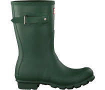 Hunter Gummistiefel Womens Original Short Grün Damen