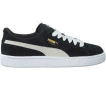 Schwarze Puma Sneaker SUEDE JR