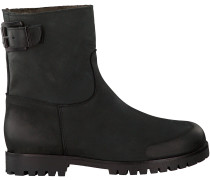 Schwarze Omoda Biker Boots 8301