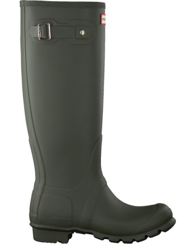 Hunter Damen Grüne Hunter Gummistiefel Womens Original Tall