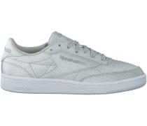 Silberne Reebok Sneaker CLUB C 85 DAMES