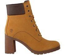 Timberland Ankle Boots Allington 6in Lace Camel Damen