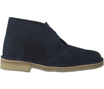 Blaue Clarks Ankle Boots DESERT BOOT DAMEN