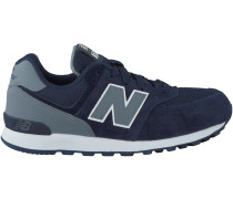 Blaue New Balance Sneaker KL574 CWP