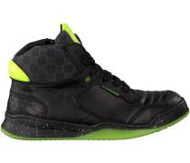 Schwarze Vingino Sneaker AARON MID