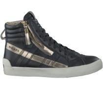 Schwarze Diesel Sneaker D-STRING