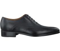 Schwarze Giorgio Business Schuhe HE39009