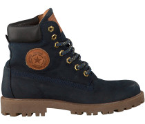 Blaue Develab Ankle Boots 41555