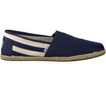 Blaue Toms Slipper CLASSIC HERREN