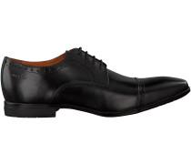 Schwarze Van Lier Business Schuhe 6054