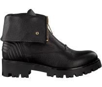 Schwarze Tosca Blu Shoes Biker Boots SF1713S244