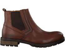 Cognac Tommy Hilfiger Chelsea Boots CURTIS 15A
