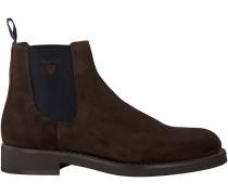 Braune Gant Chelsea Boots OSCAR