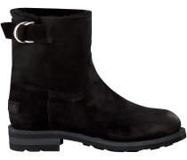 Schwarze Shabbies Ankle Boots 181020031
