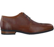 Cognac Van Lier Business Schuhe NEUS DERBY BOOT