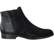 Schwarze Gabor Chelsea Boots 660