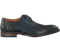 Blaue Omoda Business Schuhe 8400