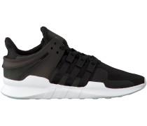 Schwarze Adidas Sneaker EQT SUPPORT ADV HERREN