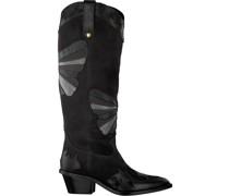 Fabienne Chapot Hohe Stiefel Holly Knee High Butterfly Boot Schwarz Damen