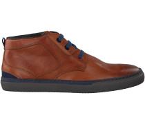 Cognac Floris van Bommel Ankle Boots 10945