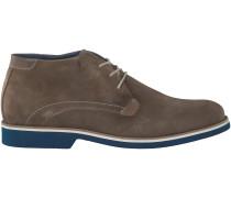 Taupe Omoda Business Schuhe 97052