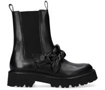 Chelsea Boots 34240 Schwarz Damen