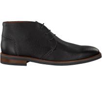 Schwarze Van Lier Business Schuhe 5373