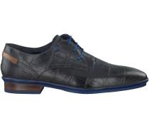 Schwarze Floris van Bommel Business Schuhe 14310