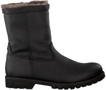 Schwarze Panama Jack Ankle Boots FEDRO IGLOO