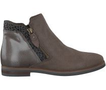 Taupe Omoda Stiefeletten 54A-002
