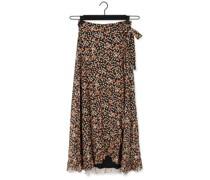 Maxirock Bobo Frill Skirt Rosa Damen