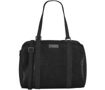 Schwarze Supertrash Handtasche BOWIE MEDIUM TASSEL