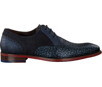Floris Van Bommel Business Schuhe 18107 Blau Herren