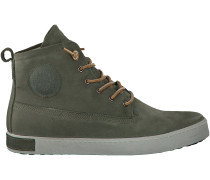 Grüne Blackstone Ankle Boots GM06
