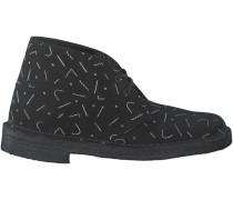 Schwarze Clarks Boots DESERT BOOT DAMES