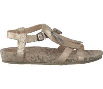 Goldene Lazamani Sandaletten 85.021