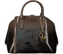 Braune Trussardi Jeans Handtasche 75B573