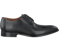 Schwarze Van Lier Business Schuhe 4030