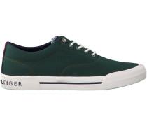 Grüne Tommy Hilfiger Sneaker HERITAGE TEXTILE SNEAKER