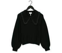 Pullover Fulton Ls Knit Pullover Schwarz Damen