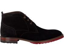 Blaue Floris van Bommel Ankle Boots 10973