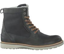 Graue Bjorn Borg Boots MILAN GR HIGH FUR