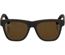 Schwarze Toms Sonnebrille SUN-TRAVELER DALSTON
