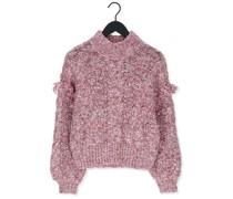 Pullover Melanise L/s Knit Pullover Lila Damen