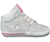 Silberne Shoesme Babyschuhe BP8S026