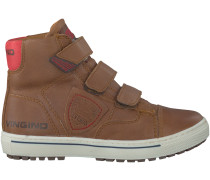 Cognac Vingino Sneaker DAVE VELCRO