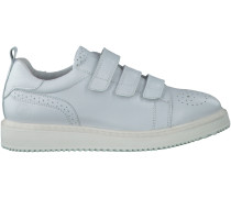 Weiße Bronx Sneaker 65827