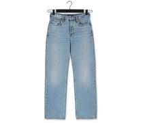Straight Leg Jeans The Sky High-rise Straight In Blau Damen