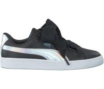 Schwarze Puma Sneaker BASKET HEART EXPLOSIVE