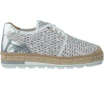 Weiße Kanna Plateau Sneaker NIMES